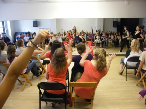 Improv class in NYC 2012