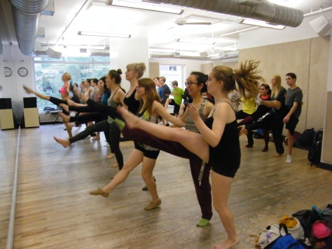 Rockette Class NYC.
