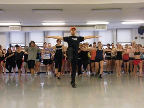 Jazz class at BDC in NYC
