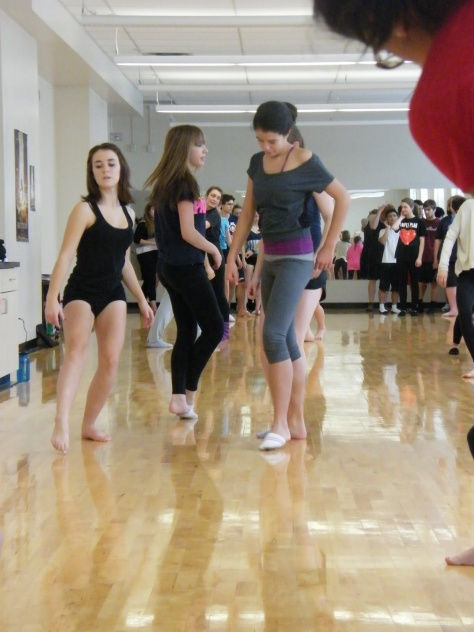 Kidd Pivot taking Scona Dance Co. on an improv journey.